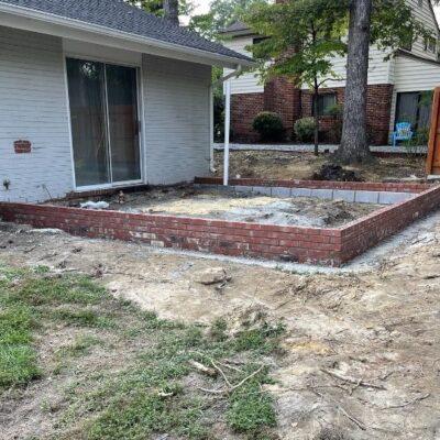 Rear Foundation Addition